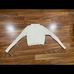 Guess crop turtle neck sweater